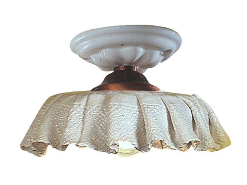 Ceramic ceiling light MODENA | Ceiling light by FERROLUCE