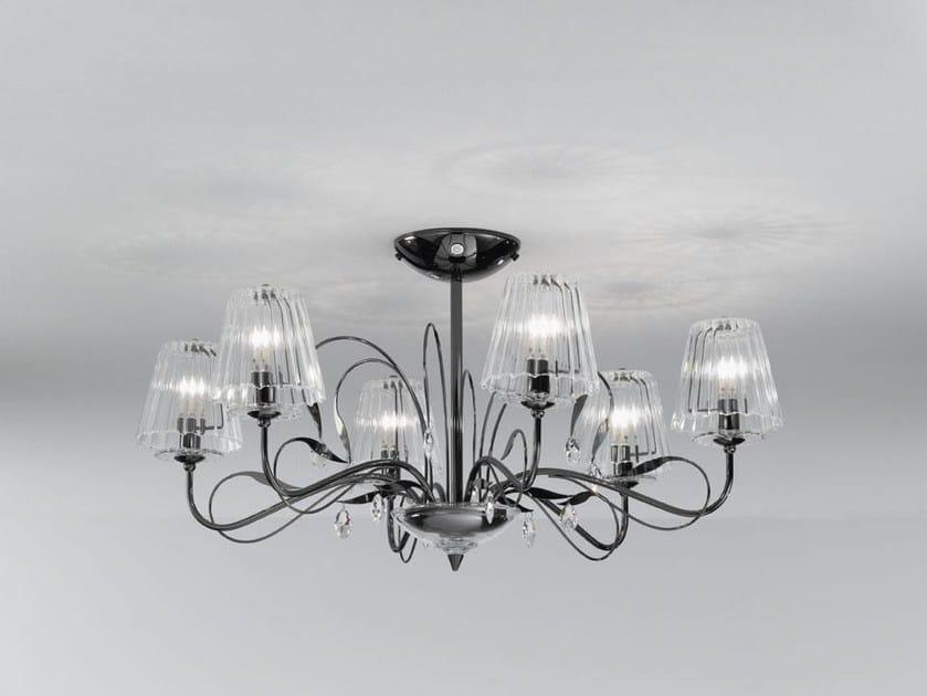 Glass pendant lamp CHLOÈ | Pendant lamp by IDL EXPORT
