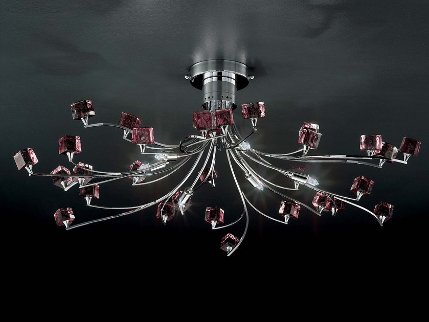 Crystal ceiling light DADO | Ceiling light by IDL EXPORT
