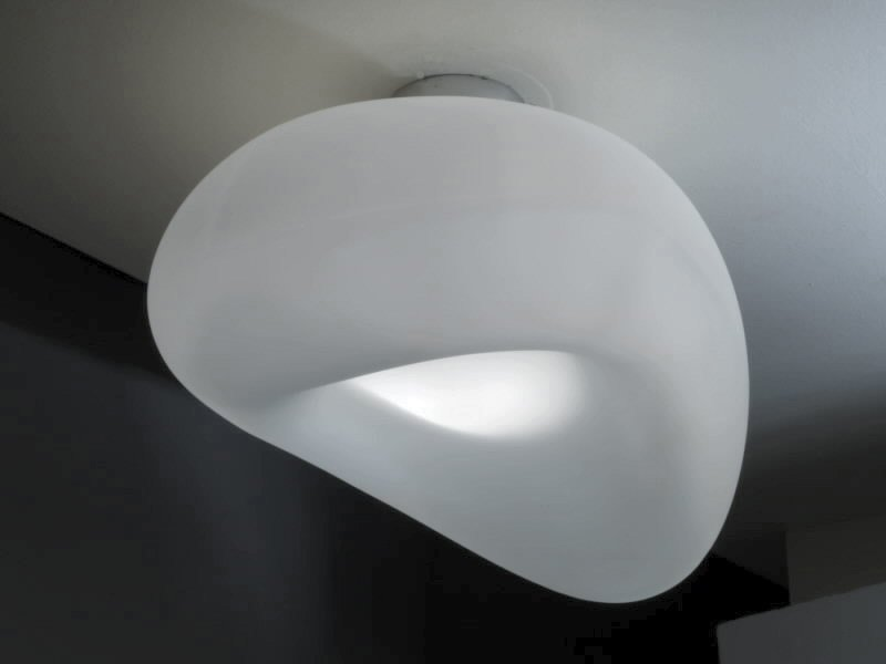 Blown glass ceiling light FAGIOLO | Ceiling light by IDL EXPORT