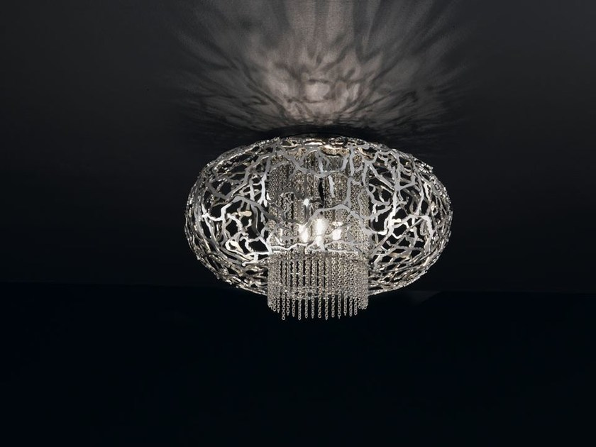 Metal ceiling light WEAVE | Ceiling light by IDL EXPORT