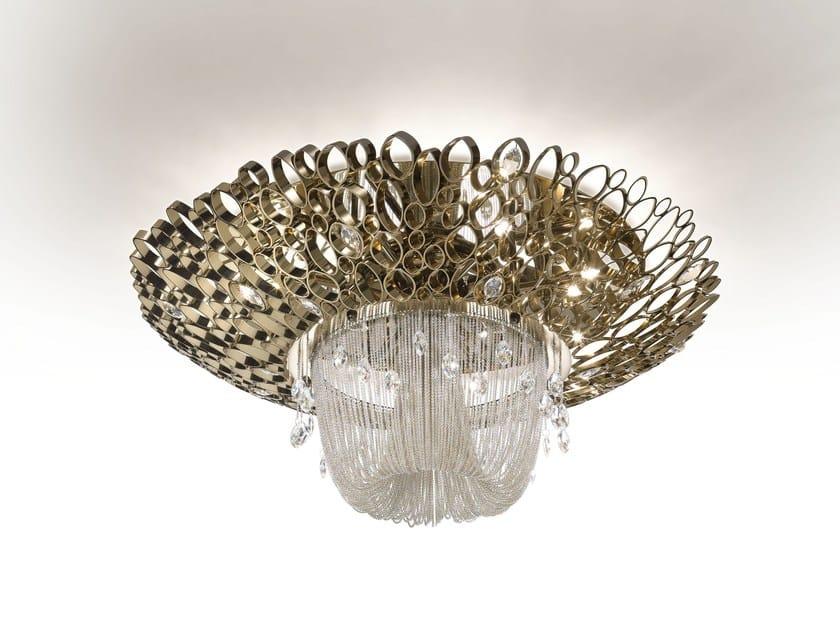 Plafoniere Cristallo Swarovski : Lampadari in cristallo swarovski elegante