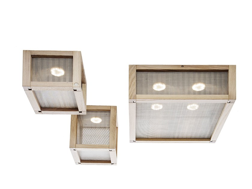 Oak ceiling light WOODY | Ceiling light by IDL EXPORT