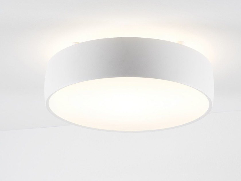 Plafonnier led flat moon plafonnier by modular lighting instruments