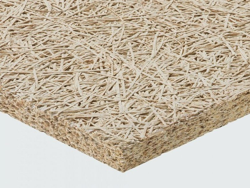 Cement-bonded wood fiber thermal insulation panel / sound insulation panel CELENIT AB/A2 by celenit