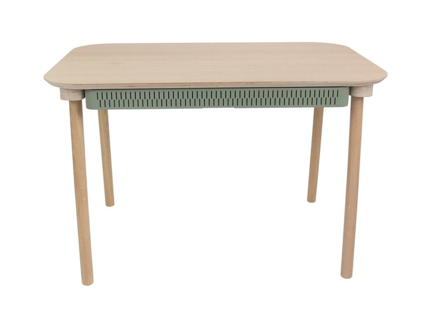 Rectangular dining table with drawers CÉLESTE by Dizy