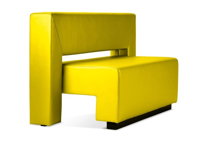 Upholstered restaurant booth CELIATITO | Leisure sofa by Domingo Salotti