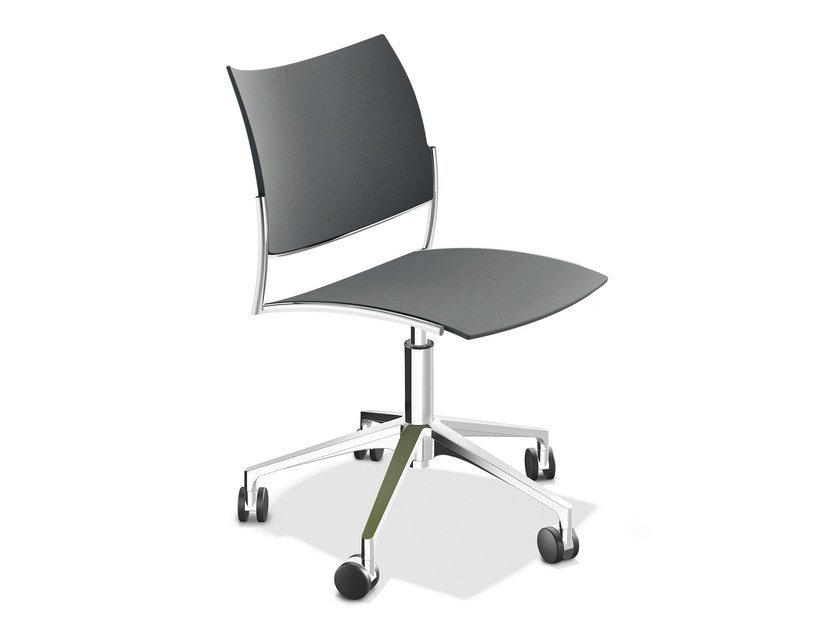 Task chair with 5-Spoke base CELLO 1298-00 by Casala