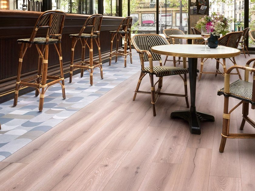Flooring with wood effect CEMENTI CLICK | Flooring with wood effect by TARKETT