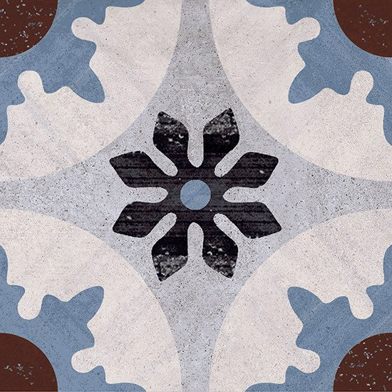 Porcelain stoneware wall/floor tiles CEMENTINE 20 4 by Ceramica Fioranese