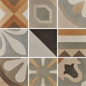 Porcelain stoneware wall/floor tiles CEMENTINE_BOHO MIX by Ceramica Fioranese