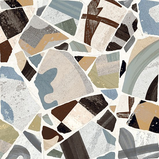 Porcelain stoneware wall/floor tiles CEMENTINE_COCCI COLORS by Ceramica Fioranese
