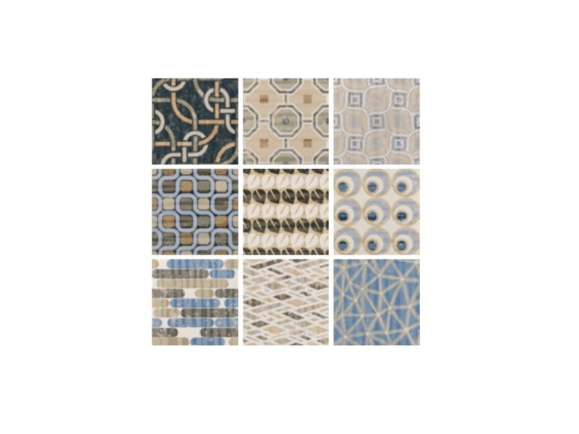 Porcelain stoneware wall/floor tiles CEMENTINE_EVO MIX by Ceramica Fioranese