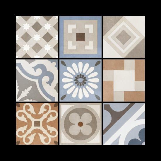 Porcelain stoneware wall/floor tiles CEMENTINE_RETRÒ DECO by Ceramica Fioranese