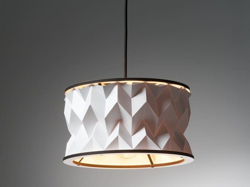 Handmade plastic pendant lamp CENTAURI JUNIOR by JavyDesign
