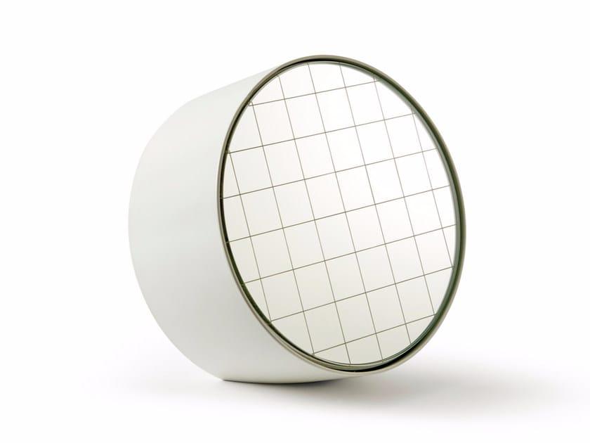 Countertop round mirror CENTIMETRI | Countertop mirror by Atipico