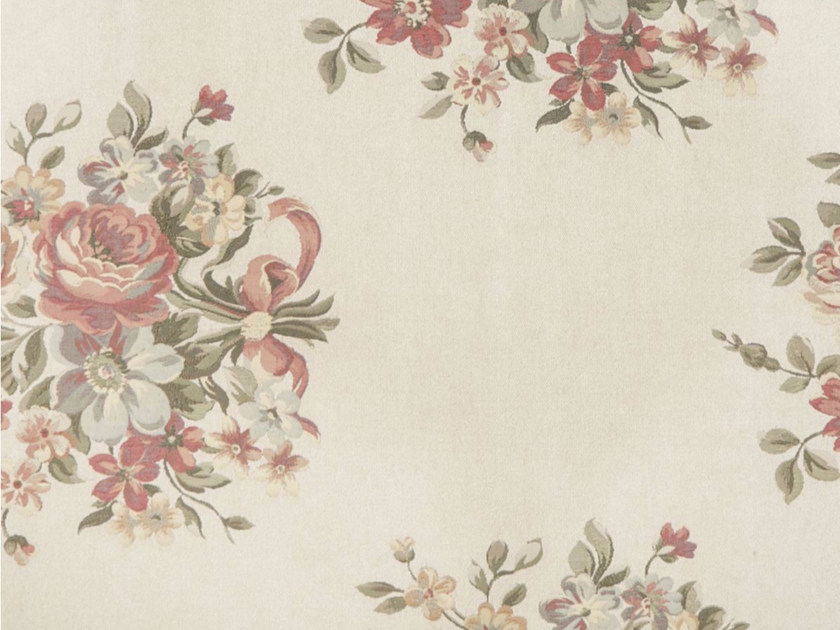 Viscose fabric with floral pattern for curtains CENTROS by Gancedo