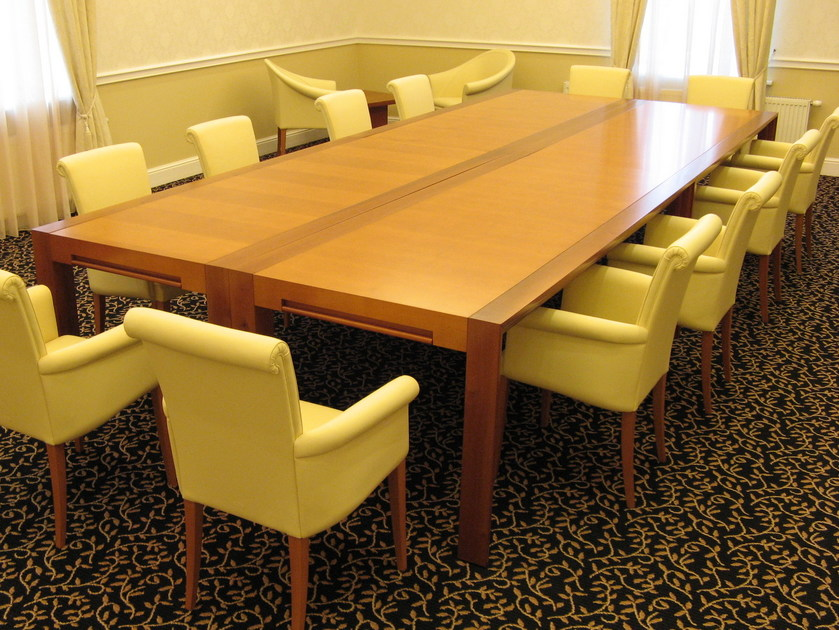 Rectangular meeting table with drawers CENTURY | Rectangular table by ARTOM by Ultom