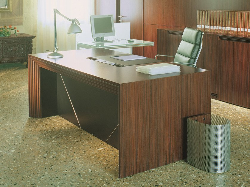 Rectangular executive desk with drawers CENTURY | Rectangular writing desk by ARTOM by Ultom