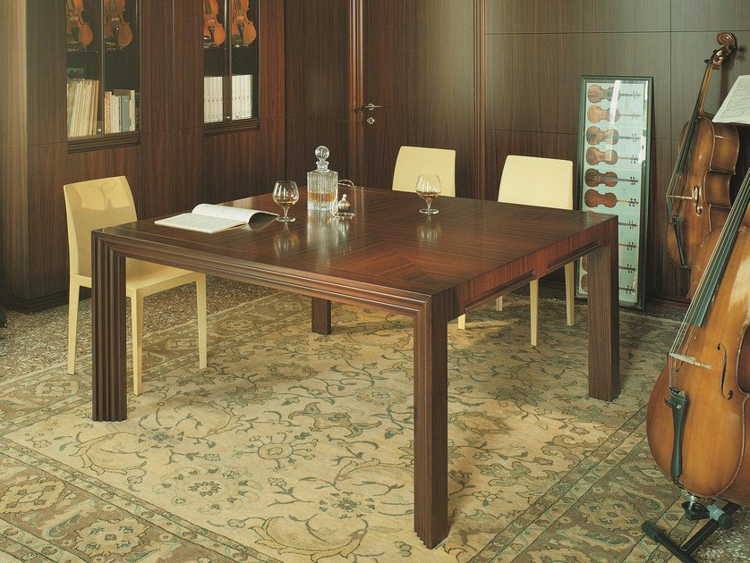Square meeting table with drawers CENTURY | Square table by ARTOM by Ultom