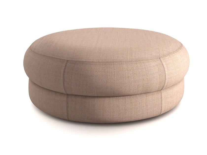 Pouf Rotondo In Tessuto Cepe L Collezione Cepe By Arrmet Design Sylvain Willenz