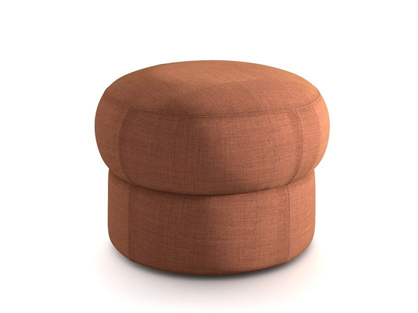 Round fabric pouf CÈPE S by arrmet