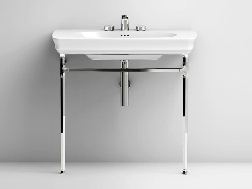 Console ceramic washbasin CIVITAS | Ceramic washbasin by Artceram
