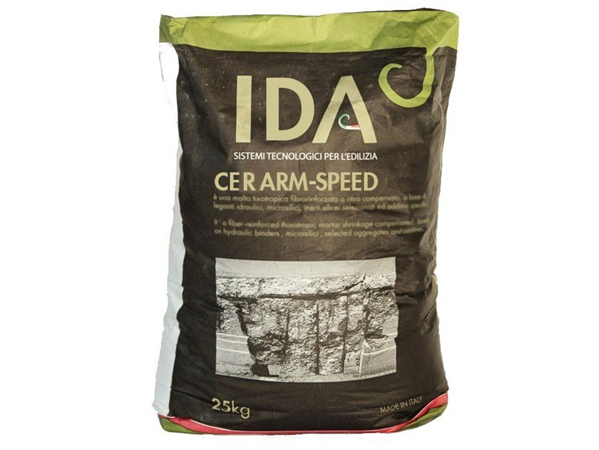 Fibre reinforced mortar CERARM-SPEED by IDA
