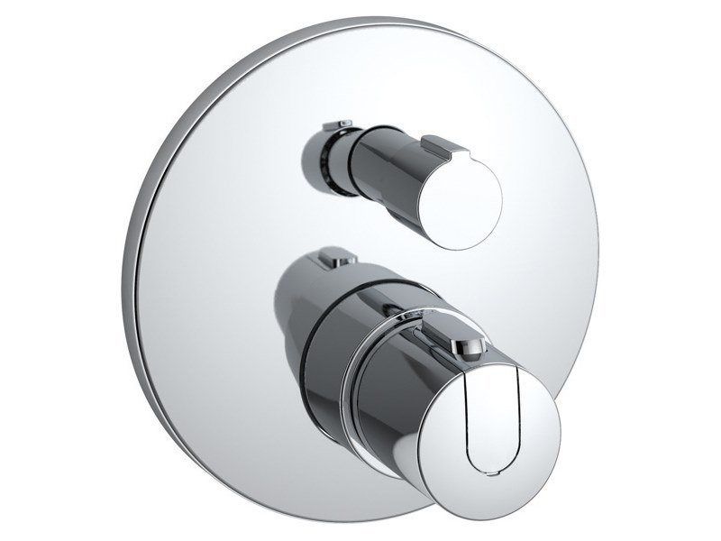 Recessed thermostatic shower mixer CERATHERM 100 - A4659AA by Ideal Standard