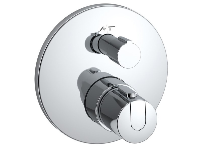 Recessed thermostatic shower mixer CERATHERM 100 - A4888AA by Ideal Standard
