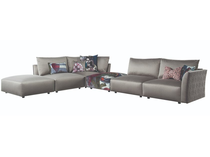 Corner sectional fabric sofa CERF-VOLANT | Corner sofa by ROCHE BOBOIS