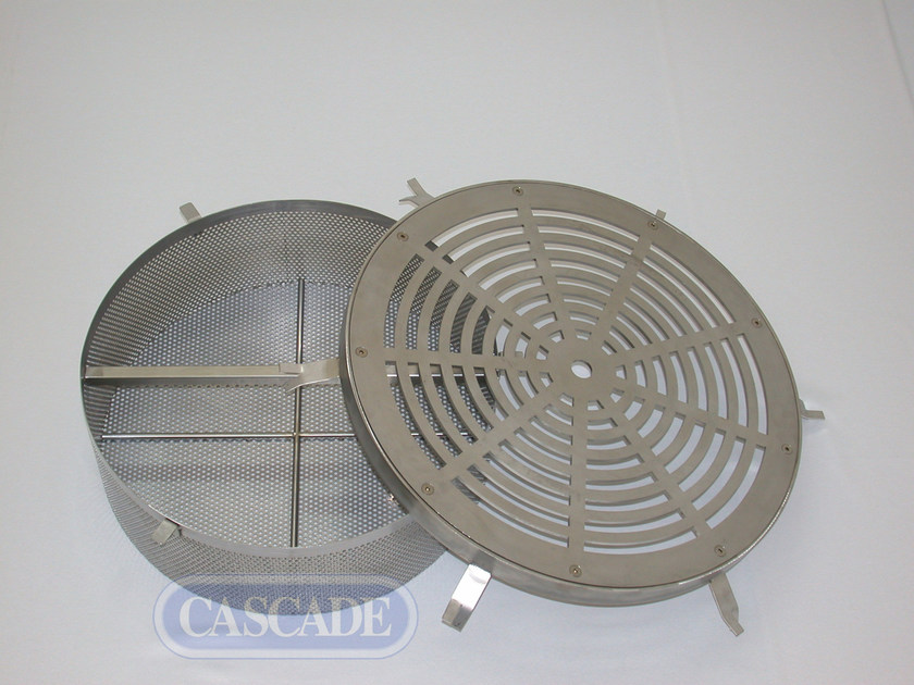 Stainless steel fountains filter Filter with plate by CASCADE