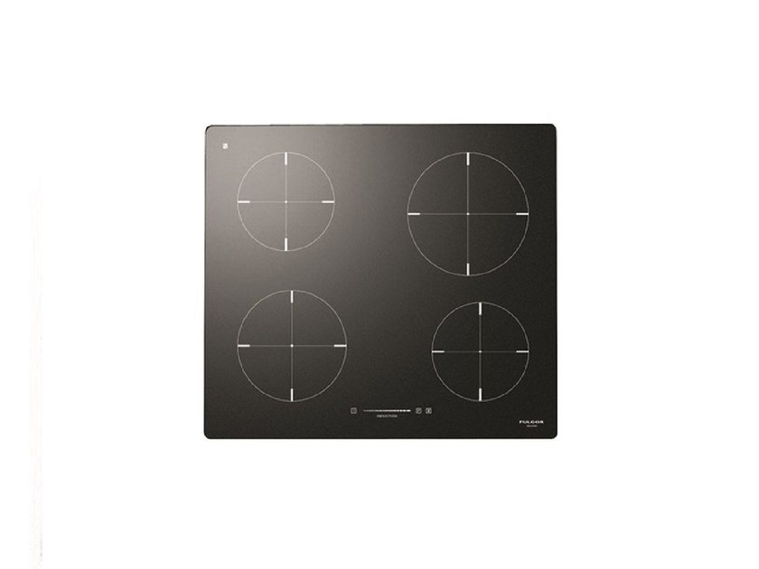 Induction built-in glass ceramic hob CH 604 ID TS | Induction hob by Fulgor Milano