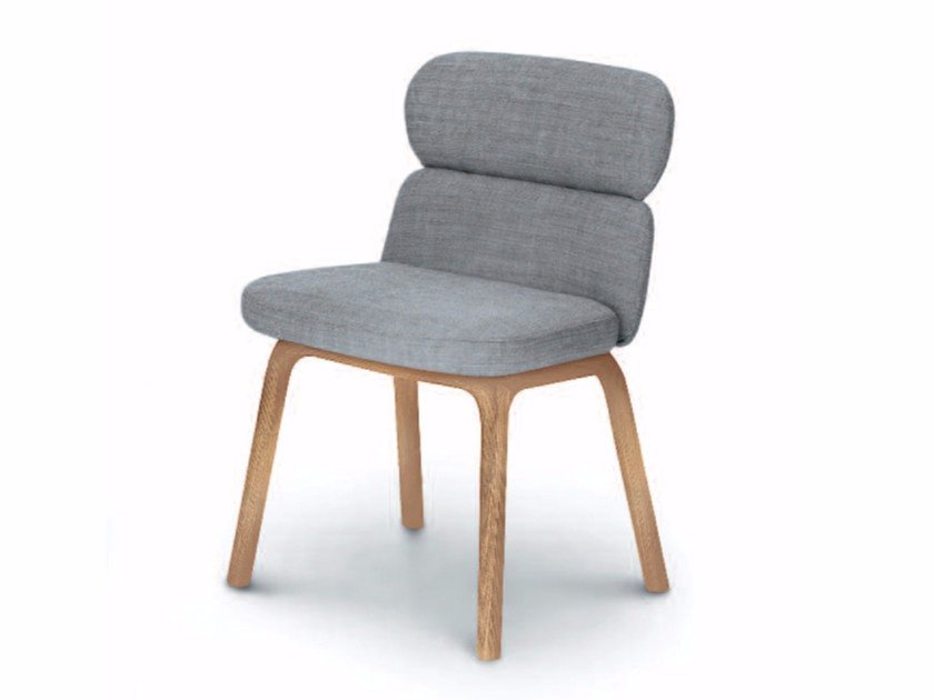 Upholstered fabric chair BLISS | Fabric chair by arflex