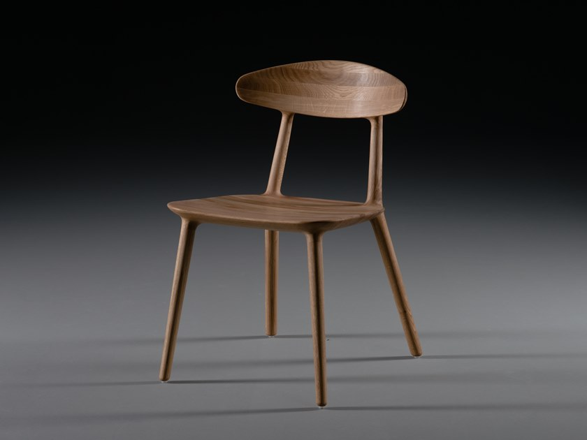 Solid wood chair WU | Chair by Artisan