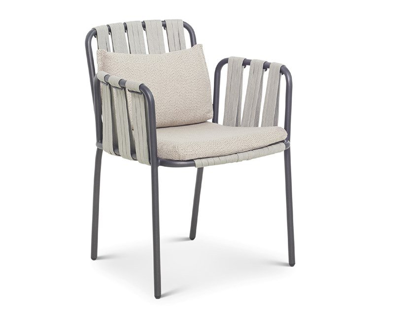 Garden chair with armrests TEJA | Chair by Bivaq