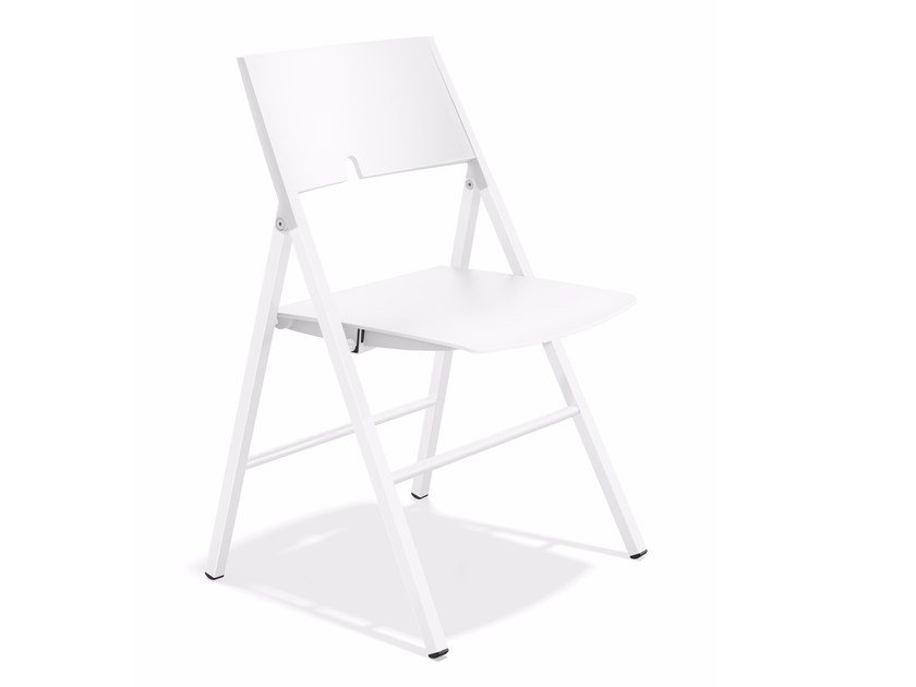 Folding plastic chair AXA 1025/00 by Casala