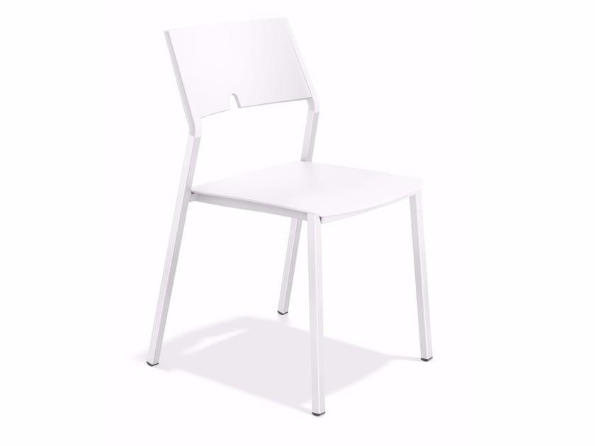 Plastic chair AXA III 1055/00/01 by Casala