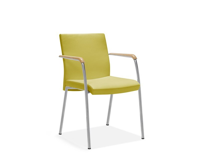 Chair with armrests IRIS | Chair by Casala