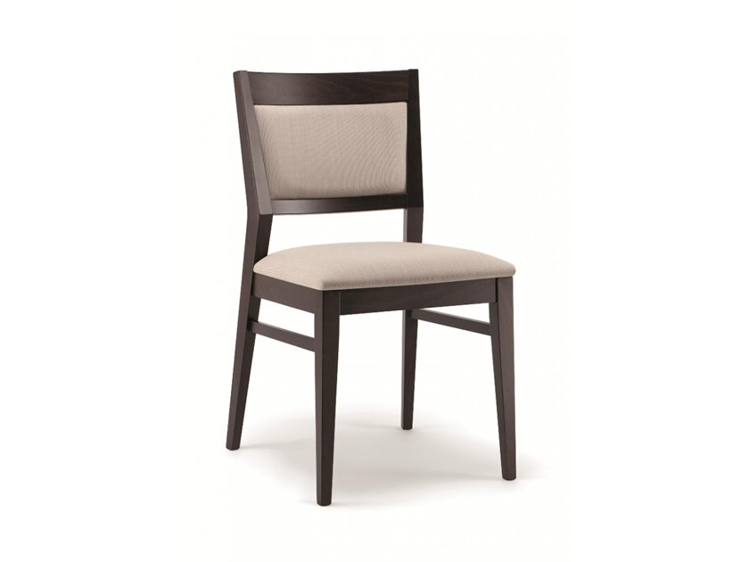 Upholstered beech chair BETTY | Chair by Cizeta L'Abbate