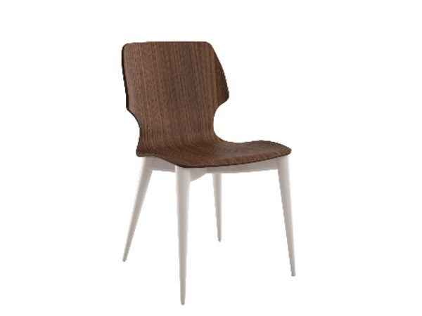Beech chair GESS | Chair by Cizeta L'Abbate