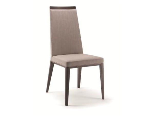 Upholstered fabric chair METRÒ | Chair by Cizeta L'Abbate