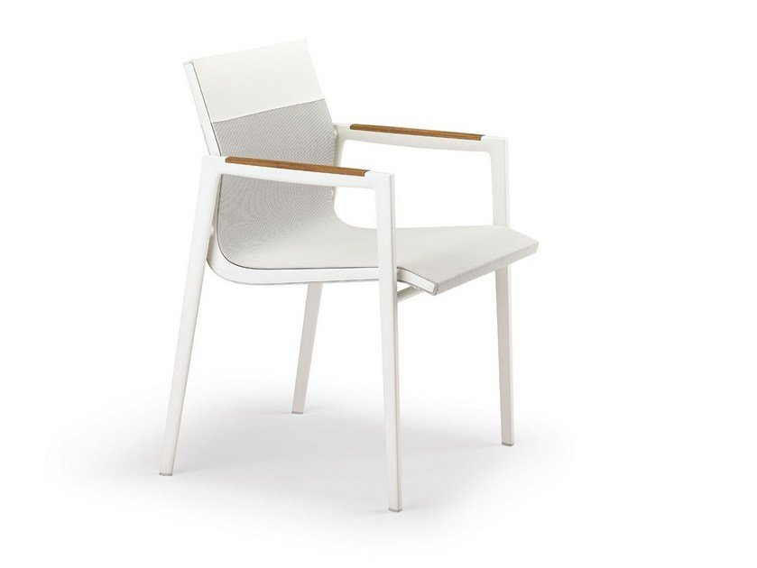 Garden chair with armrests DEAN   Chair by DEDON