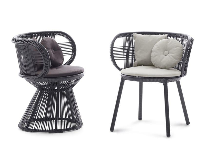 Synthetic fibre chair CIRQL | Chair by DEDON