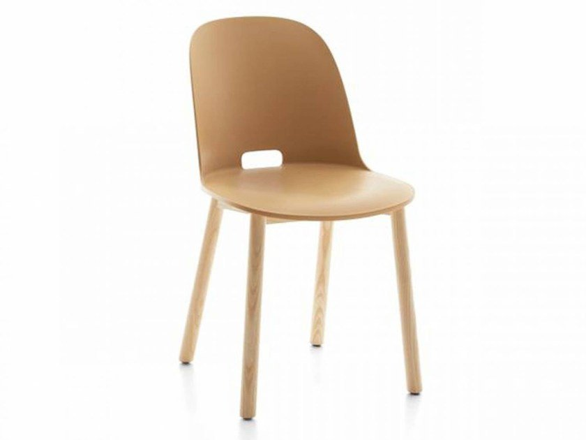 Wooden chair ALFI | Chair by Emeco