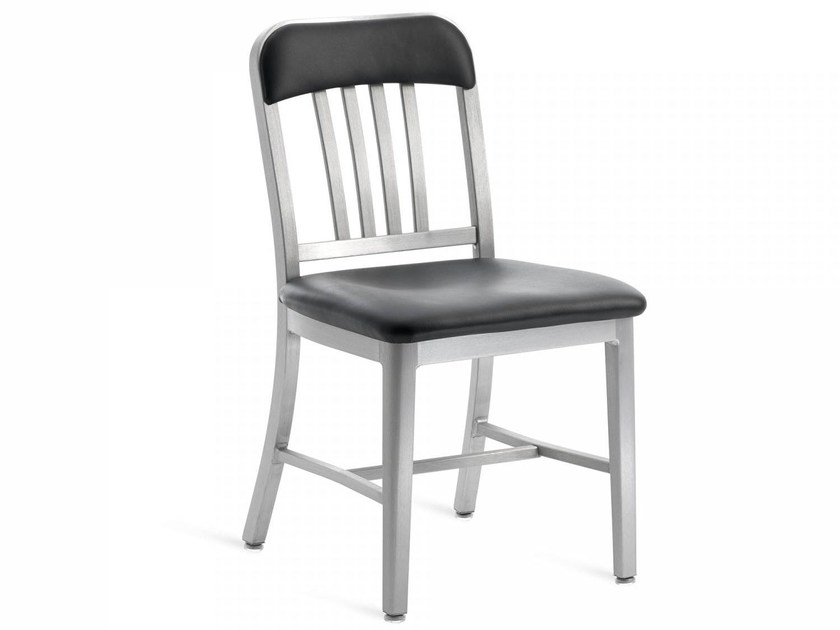 Upholstered chair NAVY® UPHOLSTERED | Chair by Emeco