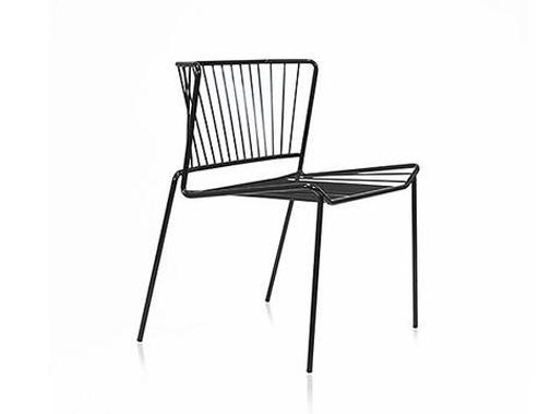 Polyester garden chair OUT_LINE | Chair by EXPORMIM