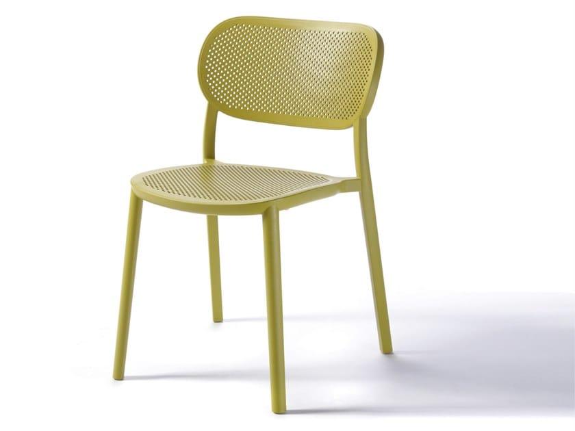 Sedia in tecnopolimero NUTA by GABER