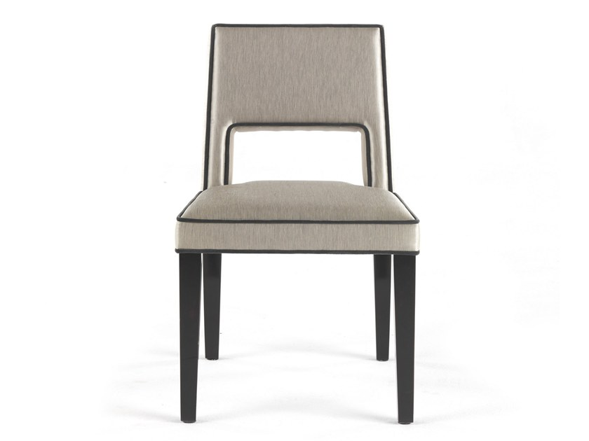 Upholstered fabric chair ELVIS | Chair by Gianfranco Ferré Home