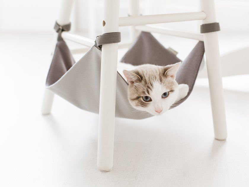 Synthetic fibre dogbasket / hammock for chairs CHAIR HANGING MATS | Synthetic fibre cats hammock by Saveplace®